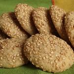 Μπισκότα νηστίσιμα με σουσάμι