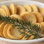 Μπισκότα αλμυρά με παρμεζάνα και δεντρολίβανο