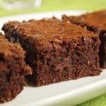 Μπράουνις με σοκολάτα και ινδοκάρυδο