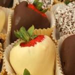 Συνταγή για φράουλες με σοκολάτα