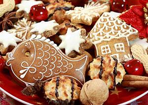 Μπισκότα με άσπρο γλάσο