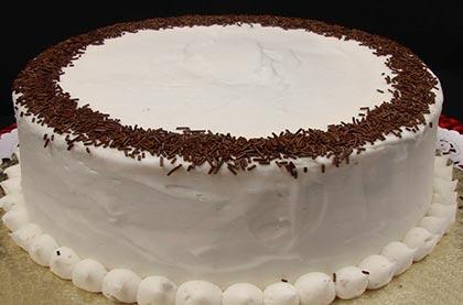 Κέικ σοκολάτα με σαντιγί