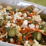 Κολοκυθάκια σαλάτα