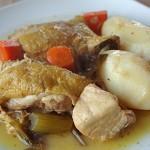 Κοτόπουλο λεμονάτο με λαχανικά