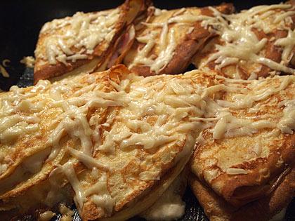 Κρέπες αλμυρές με τυρί και ζαμπόν