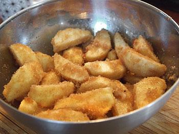 μηλόπιτα ζαχαρωμένα μήλα