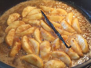 μηλόπιτα καραμέλωμα μήλων