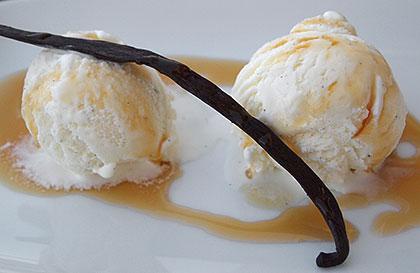 Παγωτό βανίλια χωρίς αυγά