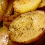 Πατάτες ψητές με μουστάρδα
