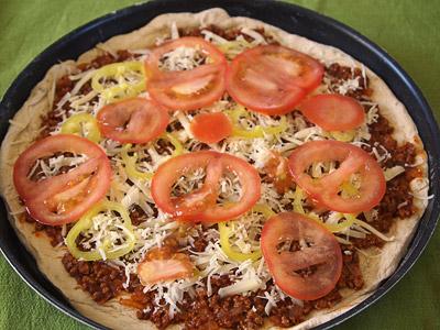 Πίτσα κιμά