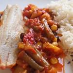 Ψάρι φιλέτο πικάντικο