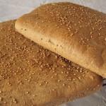 Σπιτικό ψωμί με σουσάμι