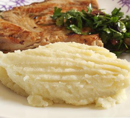 Πουρές πατάτας σκορδάτος