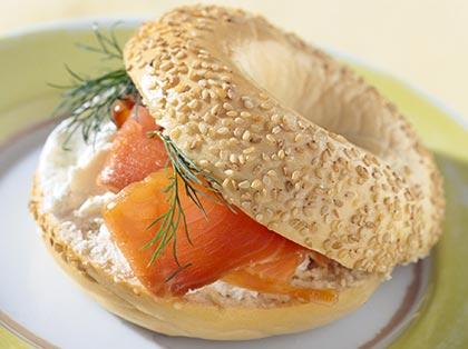 Σάντουιτς με σολομό