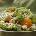 Σαλάτα με πορτοκάλι