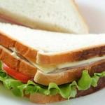 Απλό κρύο σάντουιτς