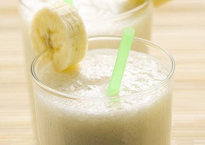 Smoothie μπανάνας (αναψυκτικό)