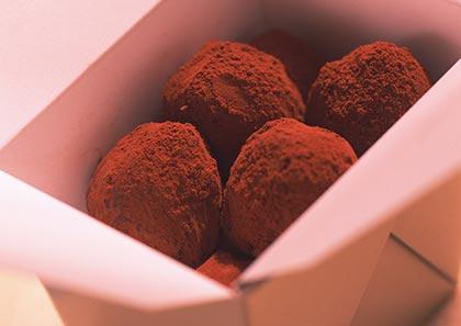 τρουφάκια-σοκολάτας