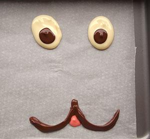 Παιδική τούρτα σχέδιο σοκολάτα