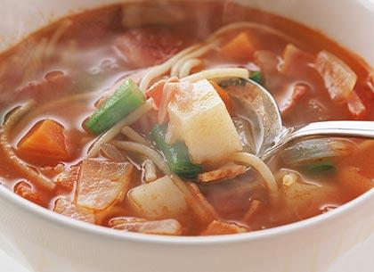 σούπα-με-λαχανικά