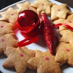 Μπισκοτένιο χριστουγεννιάτικο στεφάνι