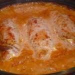 Ρολά σνίτσελ στο φούρνο