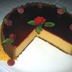 Vanilla & Pumkin Cheesecake
