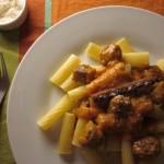 Συνταγή από Jenny για Ριγκατόνι με chorizo