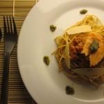 Συνταγή από Jenny για Spaghetti με πέστο και καπνιστό σολωμό / Spaghetti with pe...