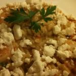 Συνταγή από Jenny για Γαρίδες με κριθαράκι και φέτα