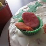 Συνταγή από Jenny για Πασχαλινό κεικ με λευκή σοκολάτα / White chocolate Easter ...
