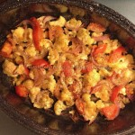 Συνταγή από Jenny για Ψητό κουνουπίδι με ντομάτες στη γάστρα/Roasted cauliflower...