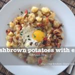 Συνταγή από Jenny για Hashbrown potatoes with eggs