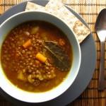 Συνταγή από Jenny για Φακές με κάρυ / Curry lentil soup