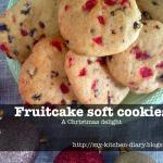 Συνταγή Από Jenny Για Γιορτινά Φρουτένια Μπισκότα / Fruitcake Soft Cookies