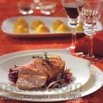 Γιορτινό πιάτο με στήθος πάπιας
