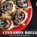 Συνταγή Από Jenny Για Cinnamon Rolls