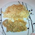Ψαρονέφρι με ρύζι