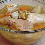 Συνταγή : Πλούσια σούπα με λαχανικά, κρεατικά