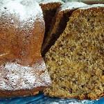Συνταγή : Κέικ με κολοκύθα, καρύδια