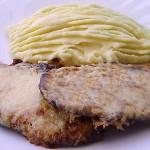 Χοιρινές  μπριζόλες με γραβιέρα