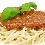 Σπαγγέτι Μπολονεζ Με Λαχανικά
