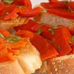 Ορεκτικό με ψητές πιπεριές φλωρίνης
