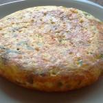 Συνταγή για Ισπανική ομελέτα  - τορτίγια