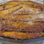 Συνταγή για μελιτζάνες ψητές με τυρί παρμεζάνα