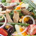 Συνταγή για σαλάτα νισουάζ (nicoise salad)