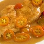 Συνταγή κοτόπουλο με κουμ κουάτ