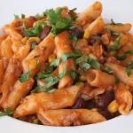 Ζυμαρικά πικάντικα σε μεξικάνικο στυλ