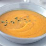 Σούπα βελουτέ με κολοκύθα