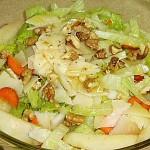 Σαλάτα με παρμεζάνα, αχλάδι